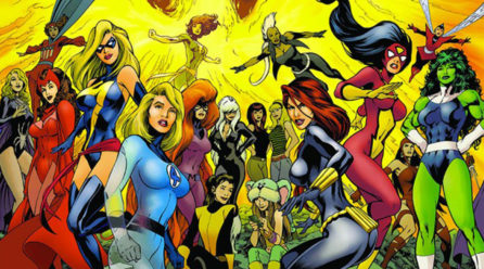 100 % superhéroïnes