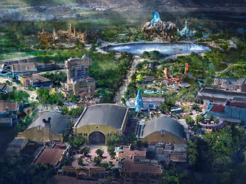 Des zones Marvel et Star Wars à Disneyland Paris