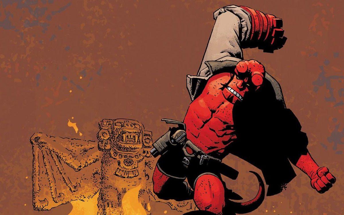 Delcourt invoque à nouveau Hellboy