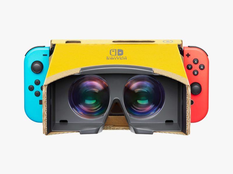 Nintendo Labo VR : Carton assuré