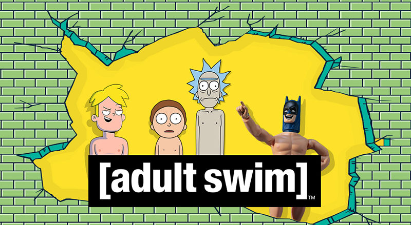 ADULT Swim arrive en France