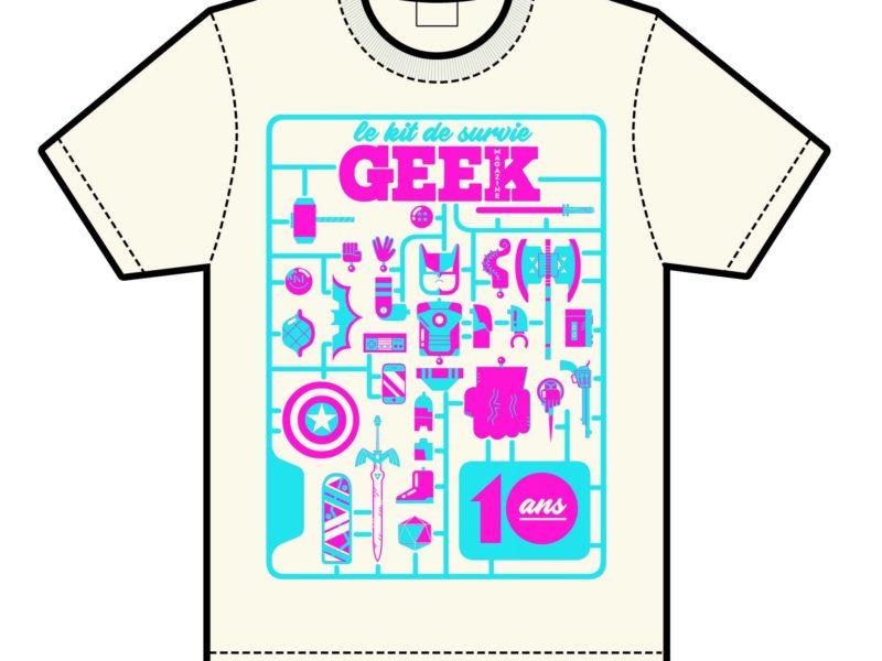 Le T-shirt CLUB est ouvert !