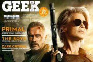 La couverture de GEEK magazine 29 révélée !