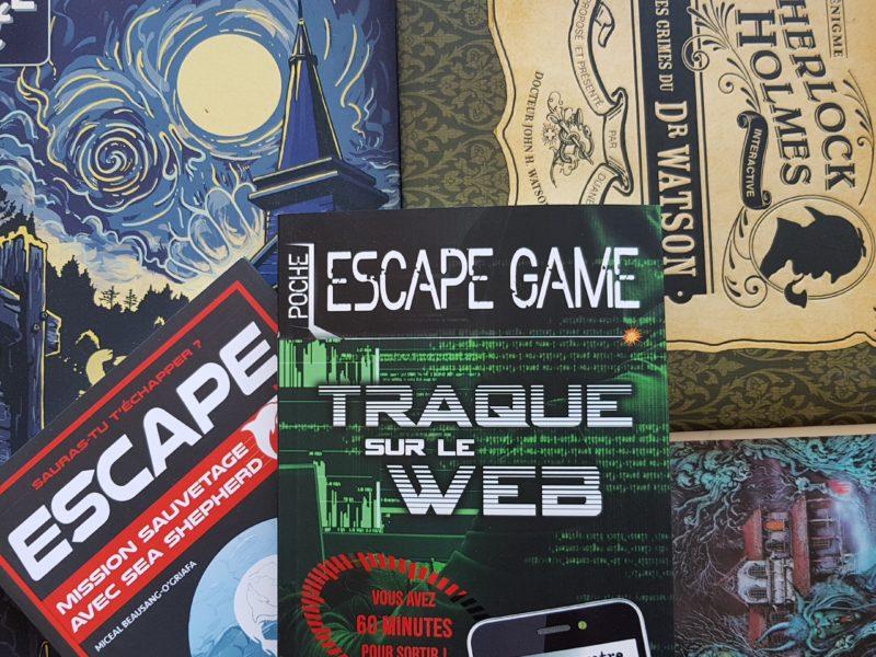 Les secrets de création des livres Escape Game