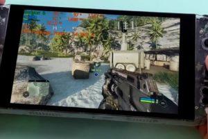 La console portable AYA Neo peut faire tourner Crysis Remasted et Cyberpunk 2077
