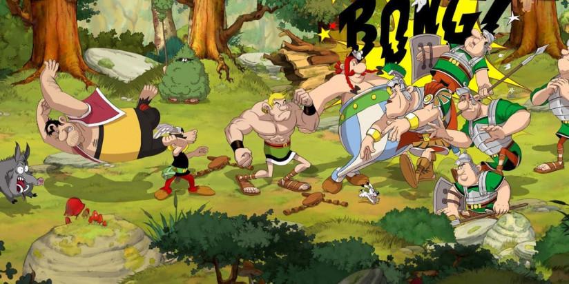Asterix & Obelix un beat'em up 2D dans l'univers de la BD