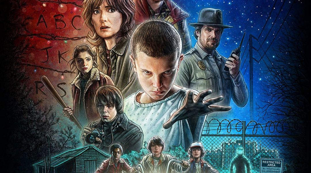 Stranger Things en version 8 bits