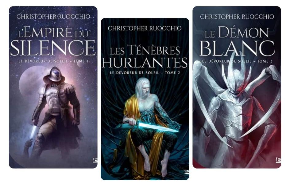 """Trilogie Le Dévoreur de soleil """"Sun Eater"""" de Christopher RUOCCHIO"""