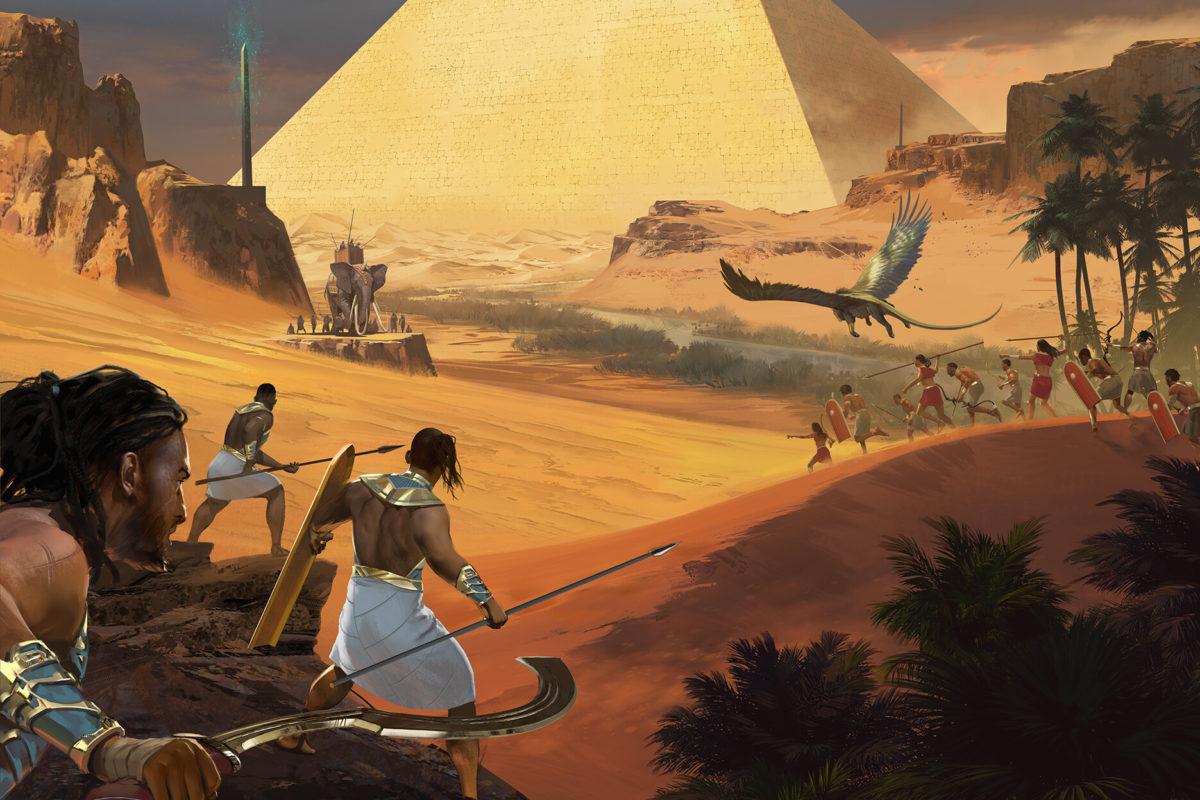 L'Egypte à l'honneur dans les jeux de société